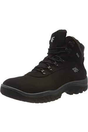4F 4F Herren H4Z20-OBMH205-21S_45 Trekking Shoes, Black