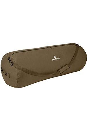 """Bear&Bark Große Duffle Bag - 36""""x14"""" - Canvas Military & Army Cargo Style Carryall Duffel für Männer und Frauen - College Student, Rucksackreisen"""