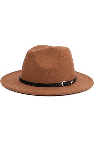 Melesh Hüte - Fedora-Hut mit breiter Krempe, unisex