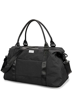 HOKEMP HOKEMP Weekender Bag Travel Duffel Bags Sports Gym Bag with Shoes Compartment for Men and Women (Black -no Dry and Wet Design)