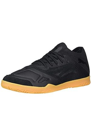PUMA PUMA Unisex Adult Futsala Soccer Shoe, Puma Black-puma White-Gum