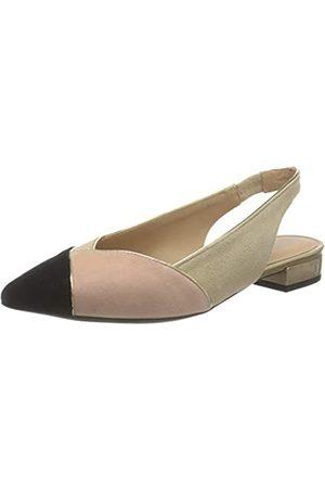 Geox Geox Damen D CHARYSSA B Ballet Flat, Black/Coral