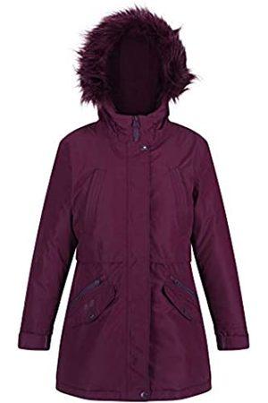 Regatta Regatta Unisex Kinder Honoria Waterproof Breathable Taped Seams Insulated Lined Hooded Parka Jacke