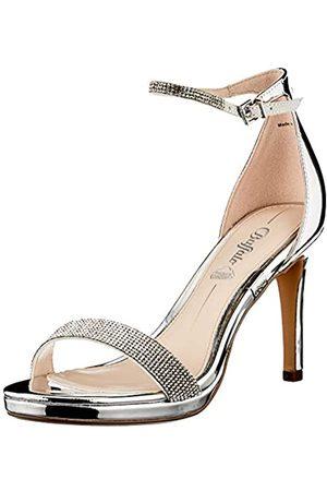 Buffalo Damen Stiefel - Damen Monroe 2 Sandale mit Absatz