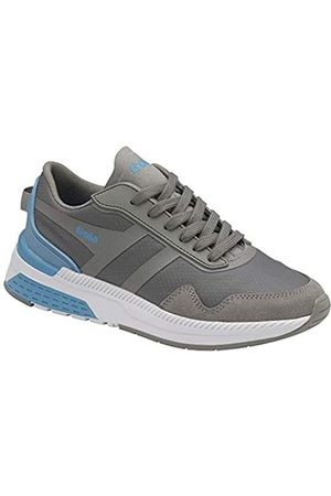 Gola Damen Atomics Road Running Shoe, Grey/Vista Blue