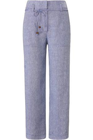 raffaello rossi Damen Hosen & Jeans - Knöchellange Hose aus 100% Leinen