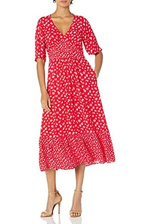 French Connection French Connection Damen FAYOLA Drape MIDI Tea Dress Lässiges Kleid