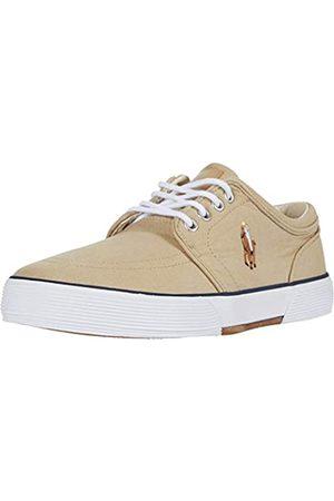 Polo Ralph Lauren Herren Faxon Leder Fashion Sneaker, ( gewaschenes Leinwandbild)