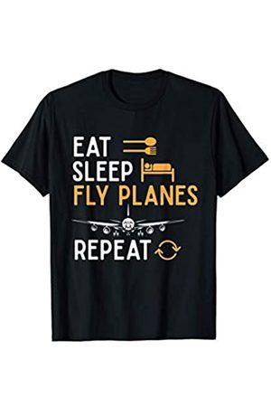 Flughafen Piloten Geschenk Jungen Fliegen - Flieger Flugzeug Fliegen Beruf Lustiges Geschenk Pilot T-Shirt