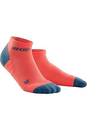 CEP Damen Unterwäsche - – NO SHOW SOCKS 3.0 für Damen | Kurze Sportsocken für dein Workout in coral / | Größe II