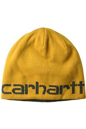 Carhartt Herren Hüte - Carhartt Herren Knit Reversible Hat Hut für kaltes Wetter, Gold