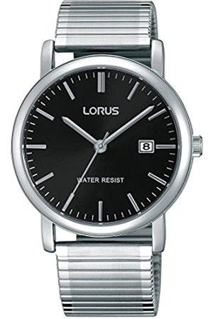 Lorus Lorus Klassik Herren-Uhr mit Palladiumauflage und Metallband RG857CX9