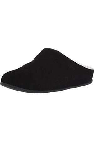 Fitflop Damen Chrissie Shearling Pantoffeln, Black (Black 001)