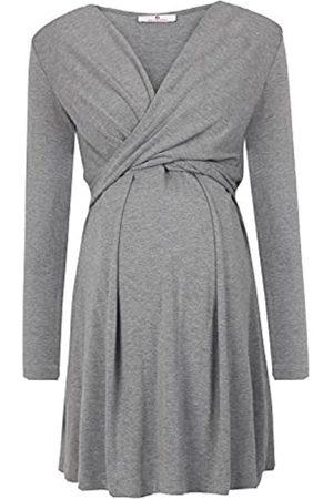 bellybutton Damen Kleider - Maternity Damen Alina - Stillkleid 1/1 Arm Umstandskleid