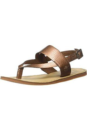 Timberland Damen Carolista Ankle ThongCopper Metallic Knöchelriemchen, (Copper