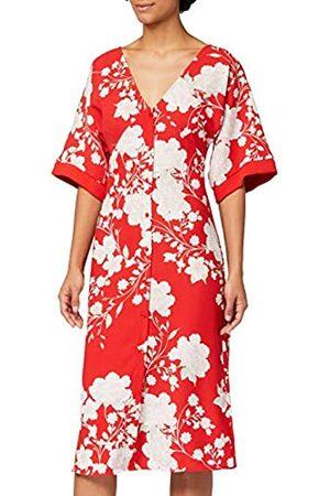 TRUTH & FABLE Amazon-Marke: Damen Midi-Kimono-Kleid, 42