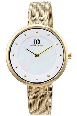 Danish Design Danish Design Damen Analog Quarz Uhr mit Edelstahl beschichtet Armband 3320214