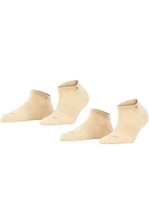 Burlington Damen Socken & Strümpfe - Damen Sneakersocken Everyday 2-Pack - Baumwollmischung, 2 Paar