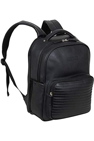 Kenneth Cole Kenneth Cole On Track Pack Veganes Leder 15,6 Zoll Laptop & Tablet Bookbag Anti-Diebstahl RFID Rucksack für Schule, Arbeit