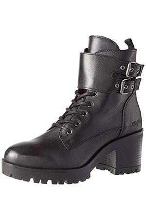 Buffalo Damen MIRA Mode-Stiefel, Black