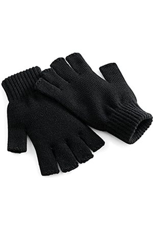 Beechfield Herren Handschuhe - Herren BB491 BLK L/XL Winter-Zubehr-Set