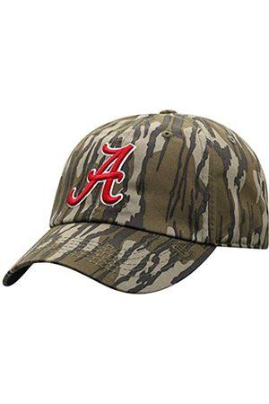 Mossy Oak Herren Hüte - Alabama Crimson Tide Men's Bottomland Original Camo College Crew Adjustable Hat