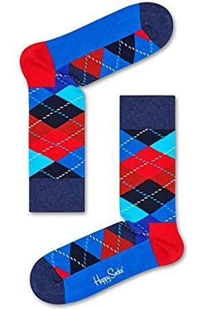 Happy Socks Damen Socken & Strümpfe - Bunte Baumwollsocken Classic Argyle für Damen und Herren,Argyle Navy