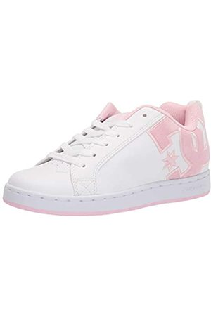DC Damen Court Graffik Skate Schuh, ( /Pink/Multi)