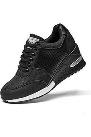 ANJOUFEMME High Heel Wedge Sneaker für Damen