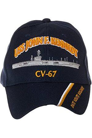 Artisan Owl Offiziell lizenzierte USS John F. Kennedy CV-67 bestickte Baseballkappe