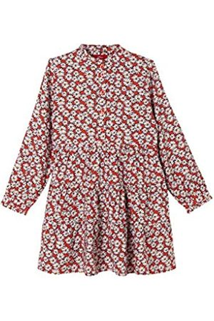 s.Oliver Mädchen Stufenkleid mit Muster 128.REG