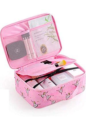 mosstyus Mosstyus Make-up-Kosmetiktasche, Reise-Kosmetiktasche, tragbar, wasserdicht, Kulturbeutel für Frauen und Mädchen