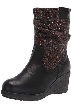 MUK LUKS Women's Pull on Fashion Boot, Black