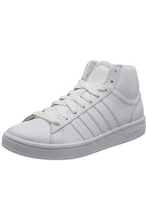 K-Swiss Damen Court Winston MID Sneaker, White/White