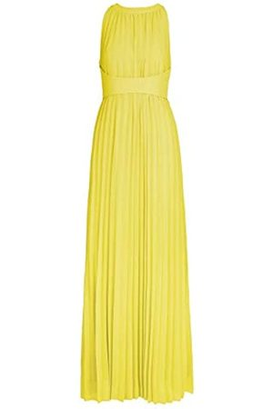 Apart APART, Elegantes Abendkleid aus plissiertem Chiffon, mit breitem Taillenband