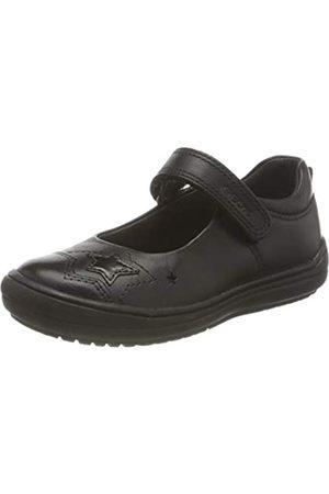 Geox Geox J HADRIEL Girl A School Uniform Shoe, (Black)