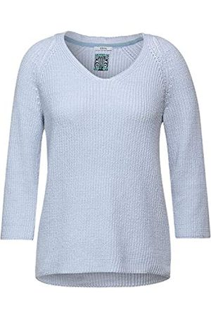 CECIL Cecil Damen Strick-Pullover in Unifarbe S