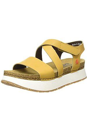 Art Damen Mykonos Flache Sandale