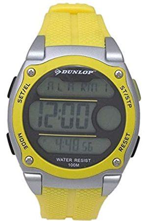 Dunlop DunlopUnisexErwachseneDigitalQuarzUhrmitGummiArmbandDUN182G10