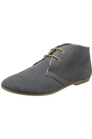 NoBrand Damen Pilot Chukka Boots, (Grey)