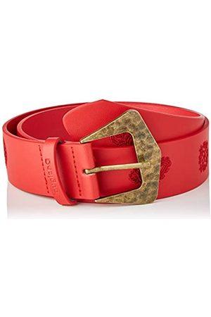 Desigual Womens Embro Belt, Red