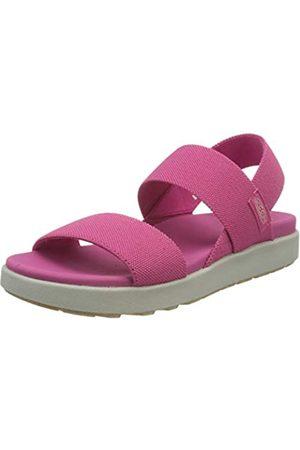 Keen Damen Elle Backstrap-W Sandal, Pink Peacock/Vapor