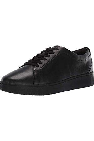 FitFlop Damen Rally Slip On Sneaker, (All Black 090)