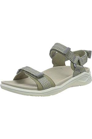 Ecco Damen X-trinsic Flat Sandal, (Vetiver/vetiver)