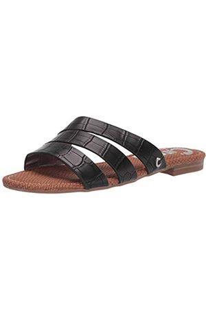 Sam Edelman Women's Briella Slide Sandal, Black Crocco