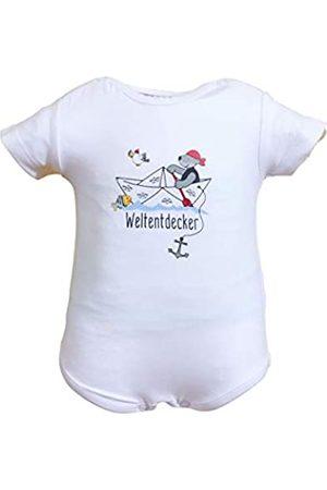 Salt & Pepper SALT AND PEPPER Baby-Jungen Body Set Ahoy Uni Print Unterhemd