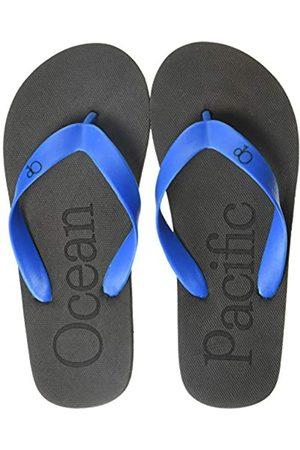 Ocean Pacific Ocean Pacific Boys' Flip Flop Sandal Black/Blue