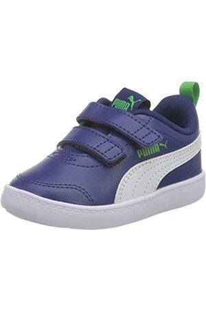 PUMA Puma Unisex Baby COURTFLEX V2 V INF Sneaker, Pink(Elektro Blue-Puma White)