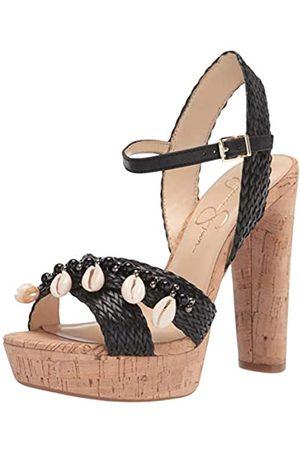 Jessica Simpson Damen Ivriele Platform Sandalen mit Absatz