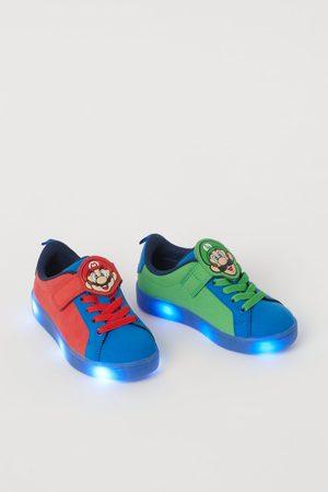 H&M Jungen Sneakers - Blinkende Sneaker